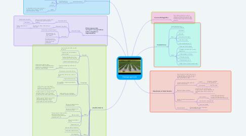 Mind Map: Drenaje agrícola