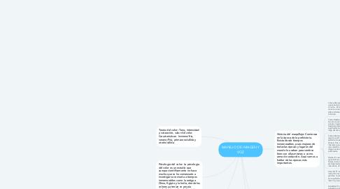 Mind Map: MANEJO DE IMAGEN Y VOZ
