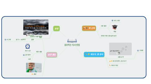 Mind Map: 효과적인 독서 방법