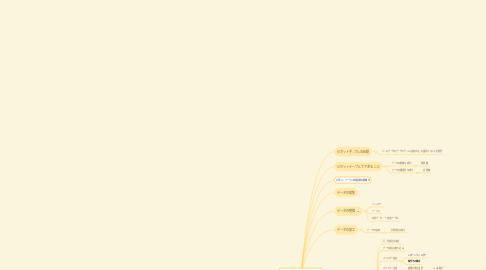 Mind Map: Excelピボットテーブル