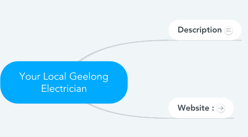 Mind Map: Your Local Geelong Electrician