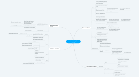 Mind Map: Schools and Society Course Synthesis