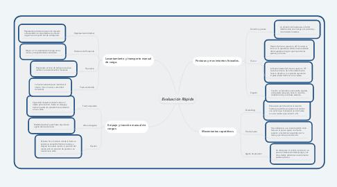 Mind Map: Evaluación Rápida
