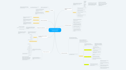 Mind Map: PROCESOS DE DESARROLLO Y PLANIFICACIÓN DE  INTERVENCIONES