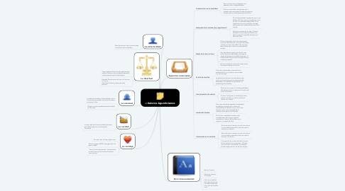 Mind Map: Valores Agustinianos