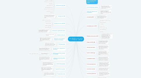 Mind Map: INFORMATICA APLICADA AL COMERCIO CRM-ERP