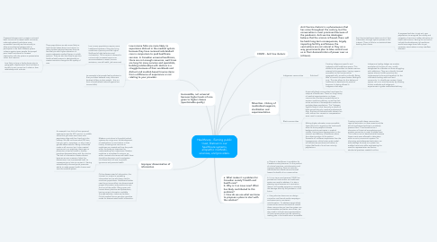 Mind Map: Healthcare - Earning public trust; Distrust in our healthcare systems, allopathic methods, sciences, and providers.