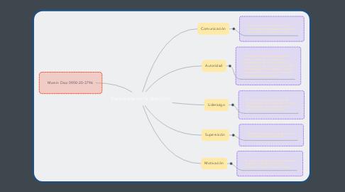 Mind Map: Elementos de la dirección