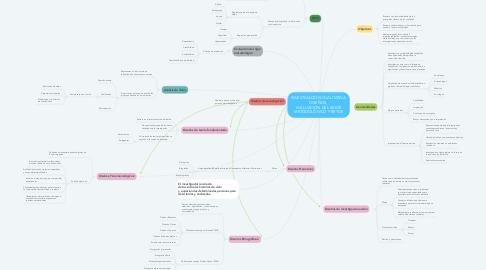 Mind Map: INVESTIGACIÓN CUALITATIVA: DISEÑOS,  EVALUACIÓN DEL RIGOR METODOLÓGICO Y RETOS