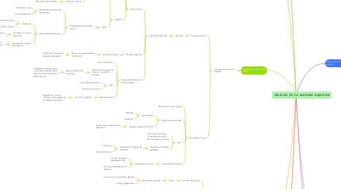 Mind Map: Organización Institucional de las colonias