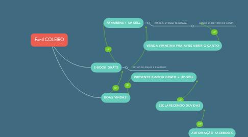 Mind Map: Funil COLEIRO