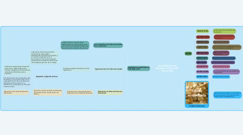 Mind Map: ORGANIZACIÓN DE FONDOS ACUMULADOS- Manual AGN.