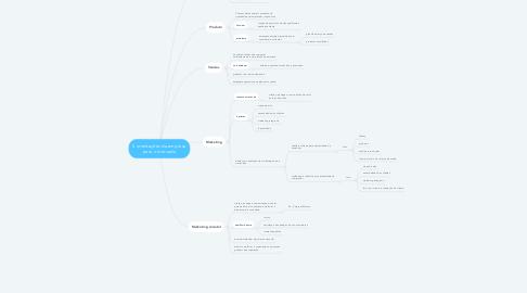 Mind Map: 5 orientações da empresa para o mercado