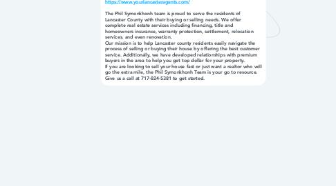 Mind Map: Your Lancaster Agents