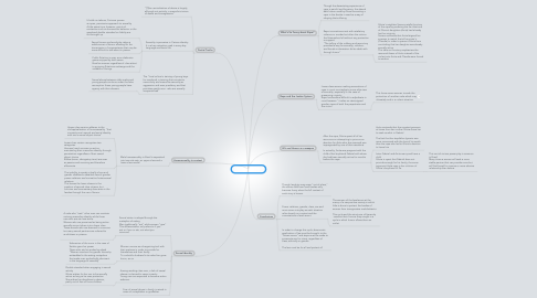 Mind Map: Chapters 6 and 7