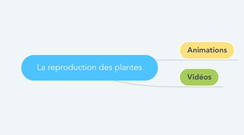 Mind Map: La reproduction des plantes