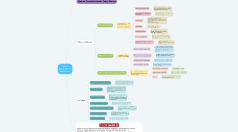 Mind Map: Tipos de producto y su clasificación