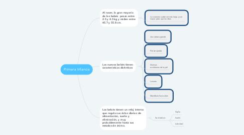 Mind Map: Primera Infancia