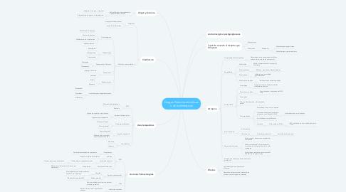Mind Map: Drogas Parasimpaticoliticas o Anticolinergicas