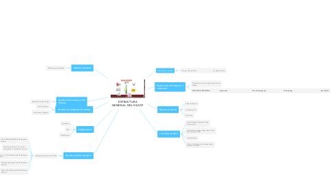 Mind Map: ESTRUCTURA GENERAL DEL SG-SST