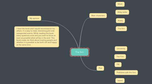 Mind Map: The firm