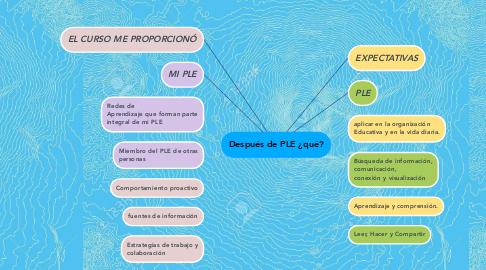 Mind Map: Después de PLE ¿qué?