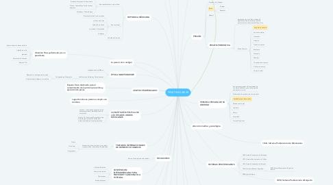 Mind Map: PENITENCIARIAS