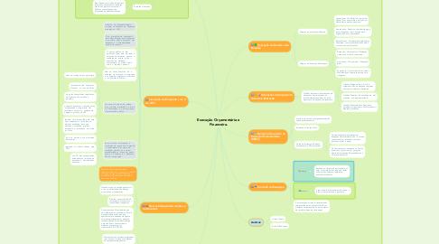 Mind Map: Execução Orçamentária e Financeira.