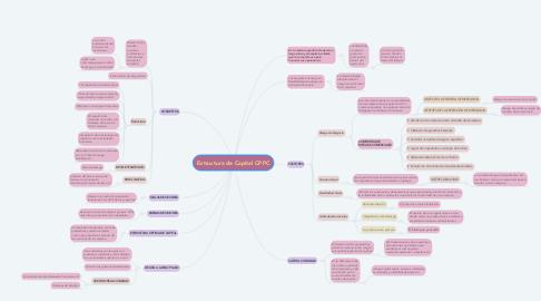 Mind Map: Estructura de Capital CPPC
