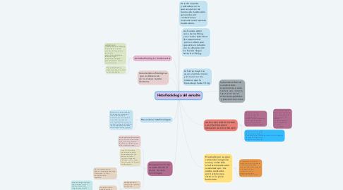 Mind Map: Histofisiolología del esmalte