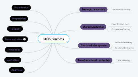 Mind Map: Skills/Practices
