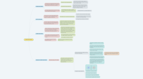 Mind Map: CAMPO ELECTRICO