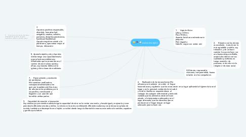 Mind Map: autoconcepto