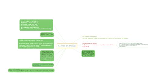 Mind Map: NATIVOS DIGITALES (1)