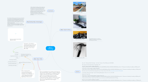 Mind Map: What is Technology