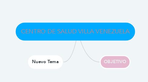 Mind Map: CENTRO DE SALUD VILLA VENEZUELA
