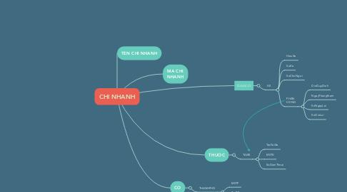 Mind Map: CHI NHANH