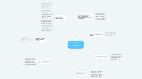 Mind Map: Consideraciones sobre la autonomía  del Derecho burocrático en México