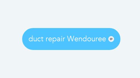 Mind Map: duct repair Wendouree