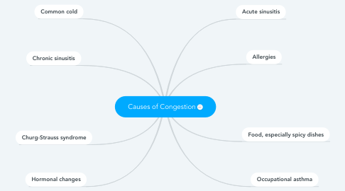 Mind Map: Causes of Congestion