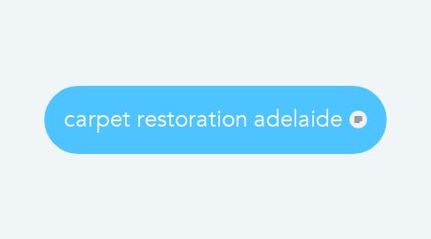 Mind Map: carpet restoration adelaide