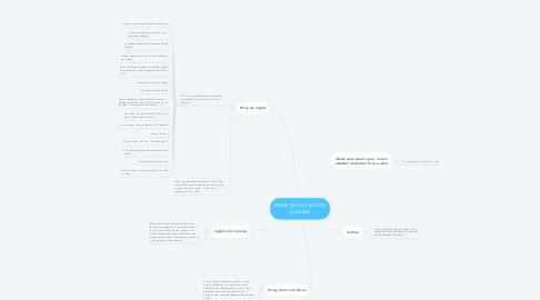 Mind Map: Ideias para o canal do youtube