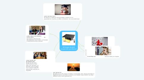 Mind Map: Mi imagen de perfil ocupacional y profesional