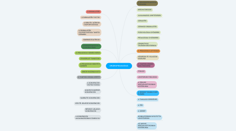 Mind Map: DRÁMAPEDAGÓGIA