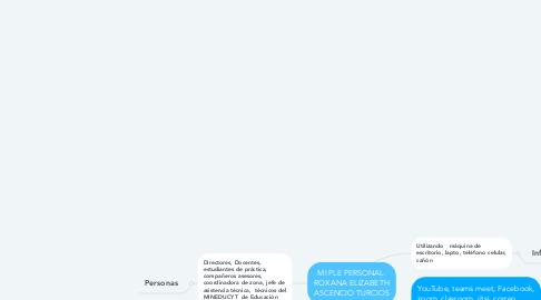 Mind Map: MI PLE PERSONAL  ROXANA ELIZABETH ASCENCIO TURCIOS