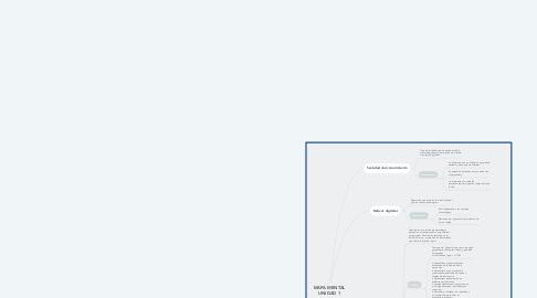 Mind Map: MAPA MENTAL UNIDAD 1