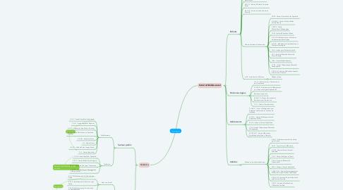Mind Map: Les catégories