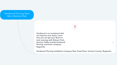 Mind Map: Hardwood Flooring Near Me In Rohnert Park