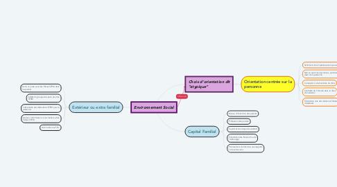 Mind Map: Environnement Social
