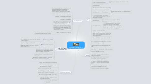 Mind Map: The Chicken or the Egg? Mt. 13
